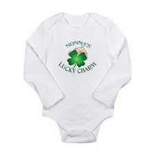 Unique Happy saint patrick's day Long Sleeve Infant Bodysuit