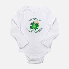 Unique Lucky irish Long Sleeve Infant Bodysuit