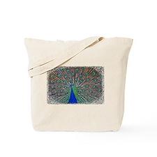 Peacock 1512 Tote Bag