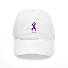 Strong. Purple Ribbon Baseball Cap