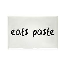 Eats Paste Rectangle Magnet