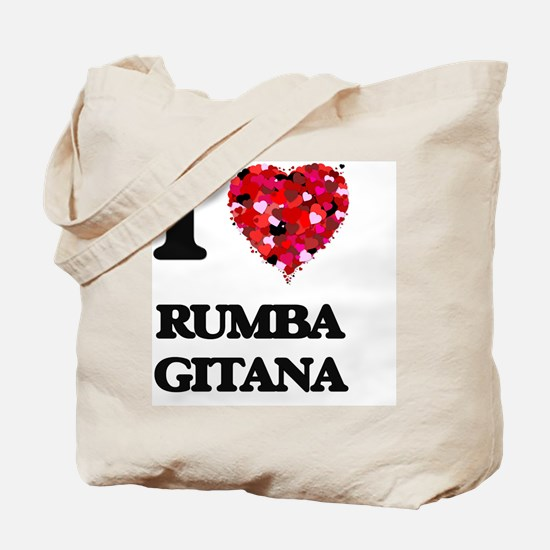 I Love My RUMBA GITANA Tote Bag