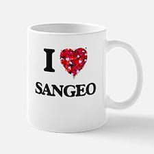 I Love My SANGEO Mugs