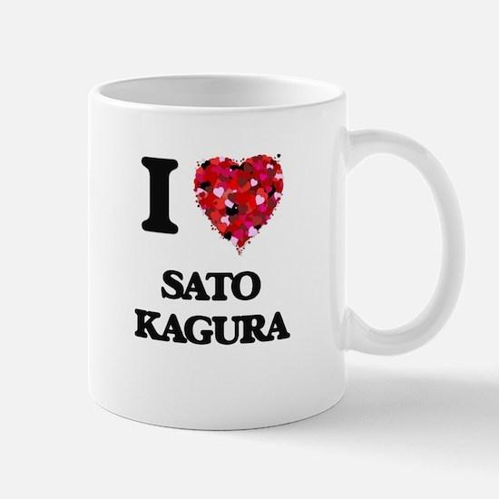 I Love My SATO KAGURA Mugs