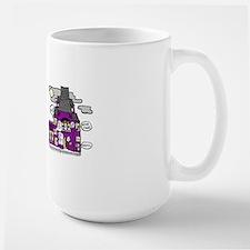 Happy Haunting Large Mug
