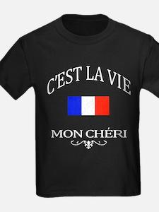 C'est la vie, mon cheri (vintage distressed look)