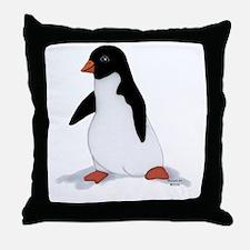 PenguinTee.jpg Throw Pillow