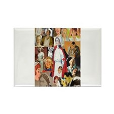 Cute Nurses day Rectangle Magnet (10 pack)