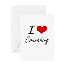 I love Crunching Greeting Cards