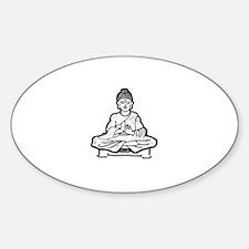 Life is buddhaful Decal
