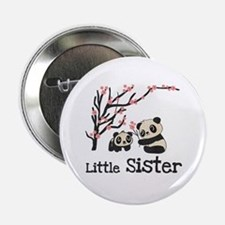 "Pandas Little Sister 2.25"" Button"