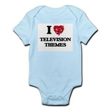 I Love My TELEVISION THEMES Body Suit