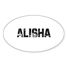 Alisha Oval Decal