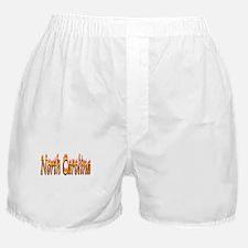 North Carolina Flame Boxer Shorts