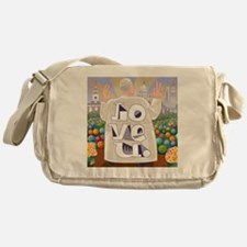 Pope Francis Love U. Messenger Bag