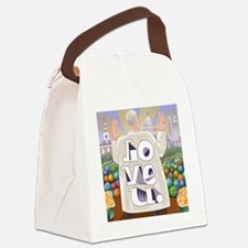 Pope Francis Love U. Canvas Lunch Bag