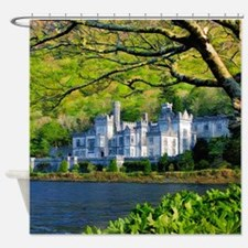 Castle By The Lake Shower Curtain