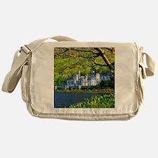 Castle By The Lake Messenger Bag