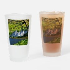 Castle By The Lake Drinking Glass