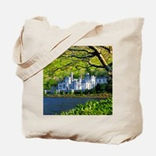 Castle By The Lake Tote Bag