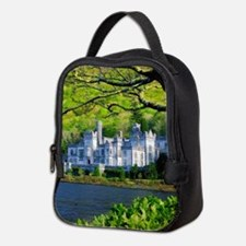 Castle By The Lake Neoprene Lunch Bag