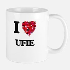 I Love My UFIE Mugs