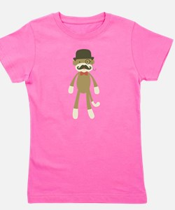 Unique Mustache Girl's Tee