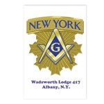 Wadsworth Lodge 417 Postcards (Package of 8)