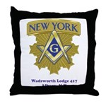 Wadsworth Lodge 417 Throw Pillow
