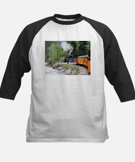 Just loco: Steam train Colorado Baseball Jersey