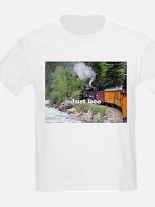 Just loco: Steam train Colorado T-Shirt