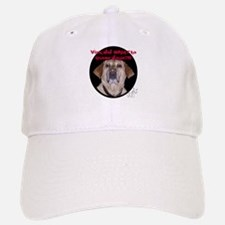 Shocked Dog Baseball Baseball Cap