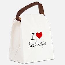 I love Dealerships Canvas Lunch Bag