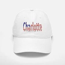 Patriotic Charlotte Baseball Baseball Baseball Cap