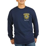 Wadsworth Lodge 417 Long Sleeve Dark T-Shirt