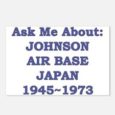 Ask Me About Johnson Air Base Japan Postcards (Pac