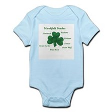 Funny Beach ocean Infant Bodysuit