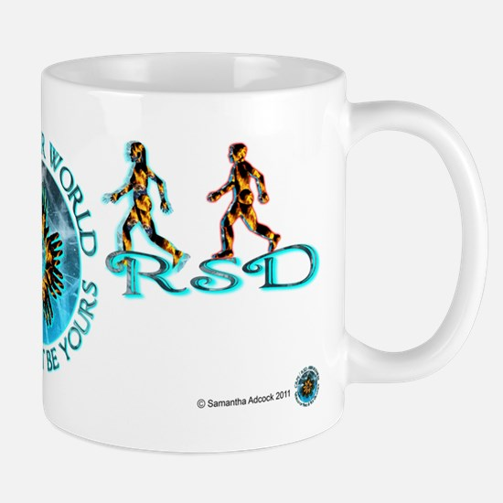 CRPS RSD Our World Blazing Hands Starburst Mugs