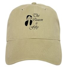 50th birthday gifts women Baseball Cap