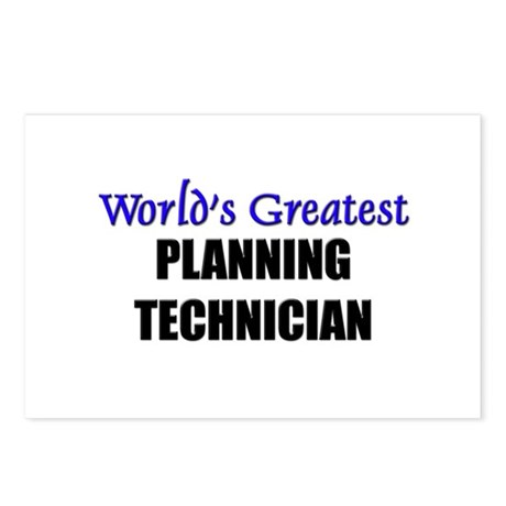 Worlds Greatest PLANNING TECHNICIAN Postcards (Pac
