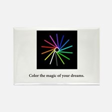 Color The Magic Rainbow Spiral Gifts Magnets