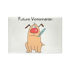 Future Veterinarian 4 Rectangle Magnet