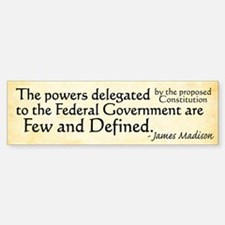 Madison Limited Government Bumper Bumper Bumper Sticker