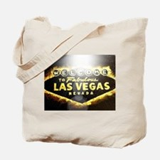 FAMOUS LAS VEGAS SIGN POKER CASINO Tote Bag