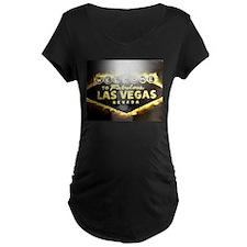 FAMOUS LAS VEGAS SIGN POKER CASINO T-Shirt