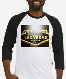 FAMOUS LAS VEGAS SIGN POKER CASINO Baseball Jersey
