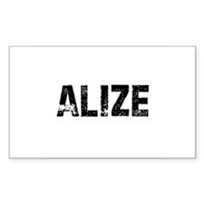 Alize Rectangle Decal
