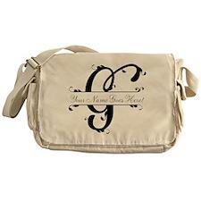 Monogram G Messenger Bag