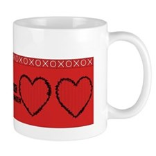 Punk Valentine's Day Mug