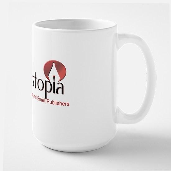 Writerstopia Magazine Logo1 Large Mug